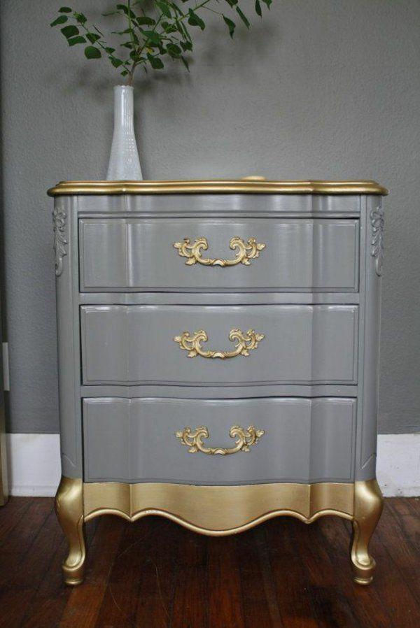 alte m bel neu gestalten und auf eine tolle art und weise aufpeppen diy und selbermachen. Black Bedroom Furniture Sets. Home Design Ideas