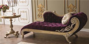 Queen Ann Bankje.36 8217 Sofa Chaise Longue Leren Stof Bankje Ligstoel Barok Baroque
