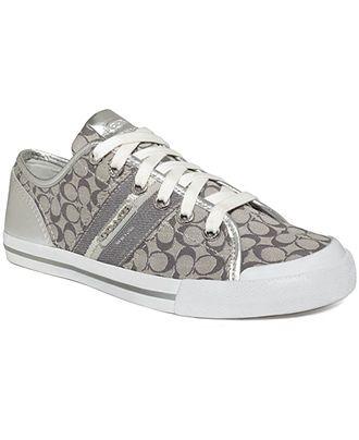 6ae26597bd4 COACH FRANCES SNEAKER - Coach Shoes - Handbags   Accessories - Macy s OMG  LOVE LOVE LOVE