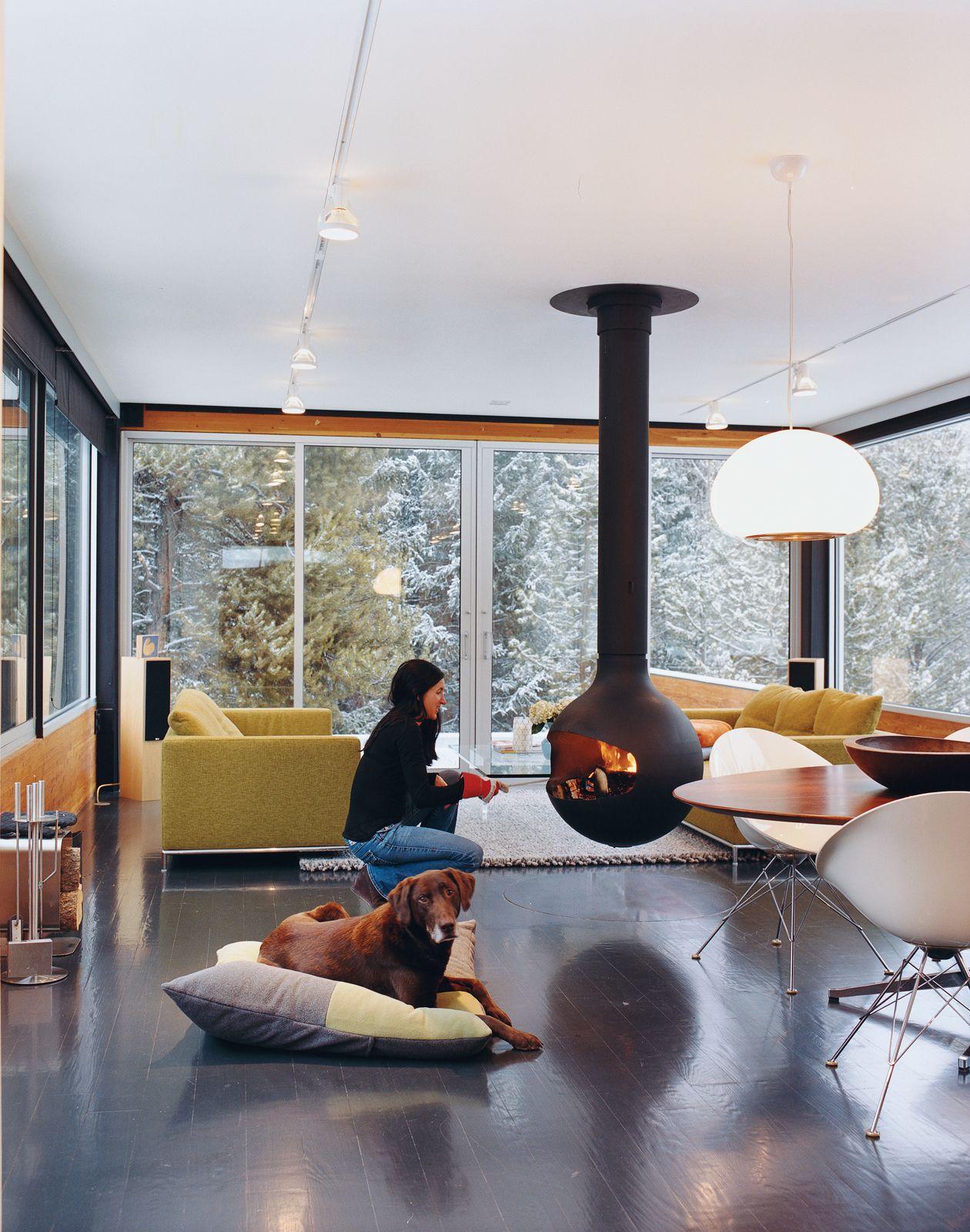 cheminee bathyscafocus foyer suspendu ouvert pivotant. Black Bedroom Furniture Sets. Home Design Ideas