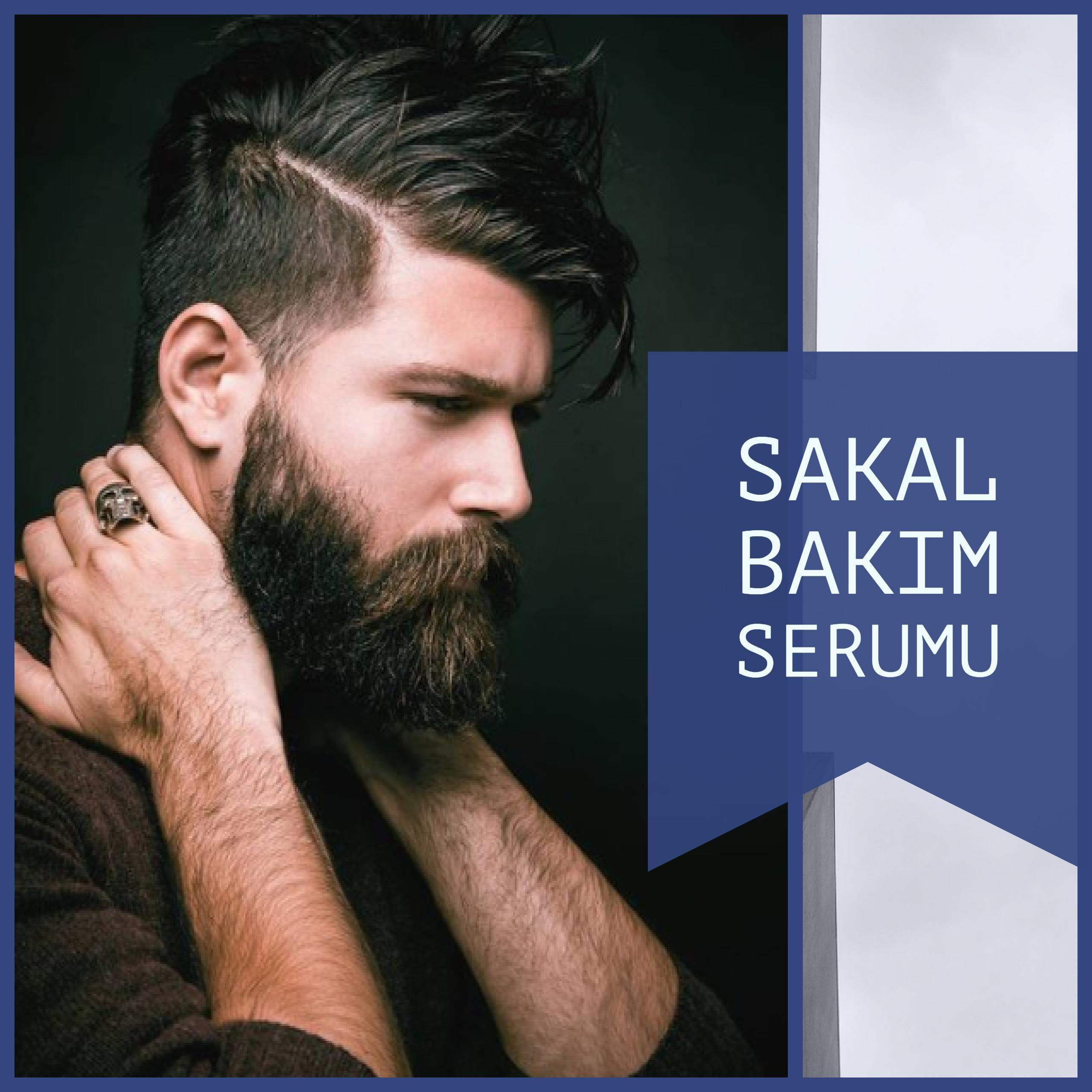 Sakal Serumu Uzun Ve Gur Sakallar Icin Sakal Erkek Sac