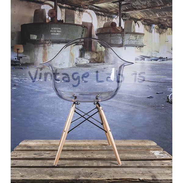 Design Eames DAW stoel transparant - Vintagelab15.com