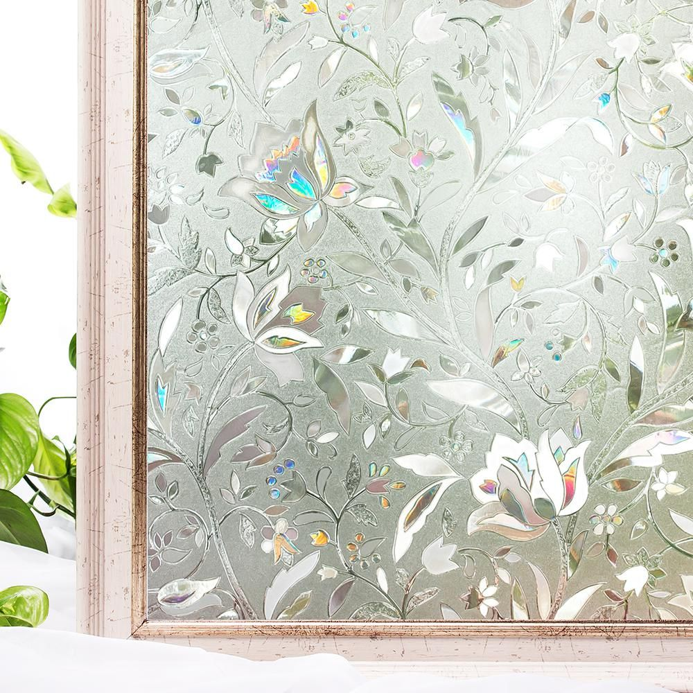 Cotton Colors 35 4 In X 78 7 In Decorative And Privacy 3d Window