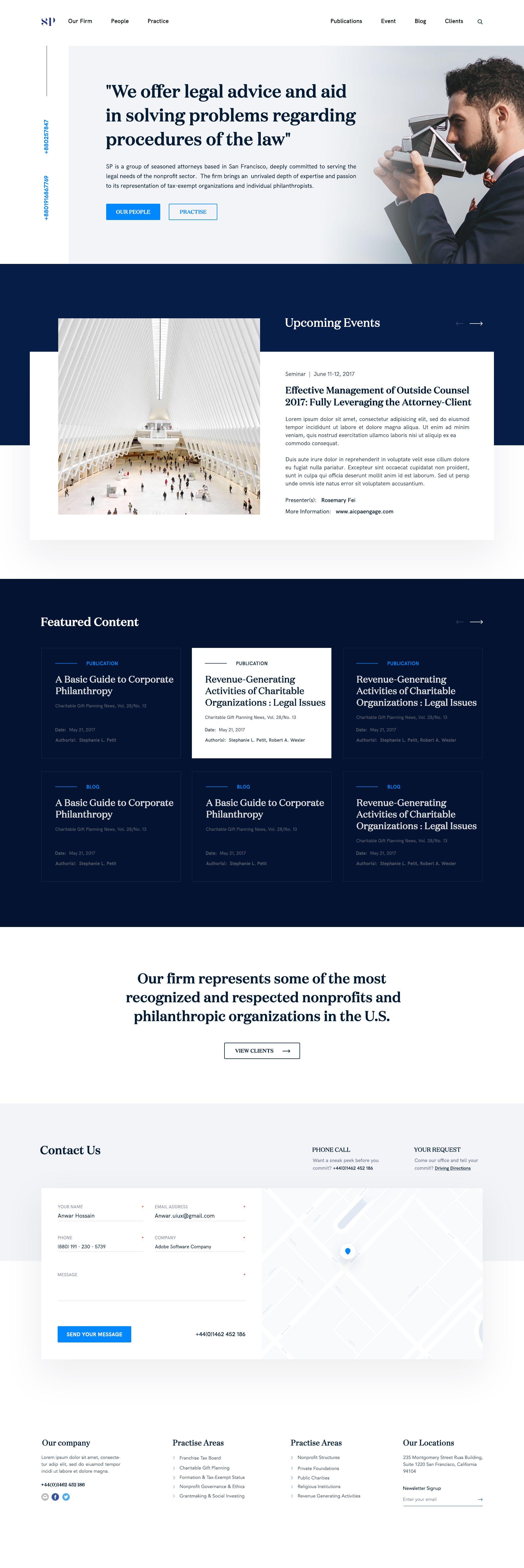 Lawyer Website Design Full Lawyer Website Design Corporate Website Design Clean Web Design