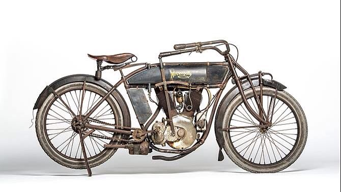 Harley Davidson: 1913 Minneapolis Model S2 De Luxe Twin