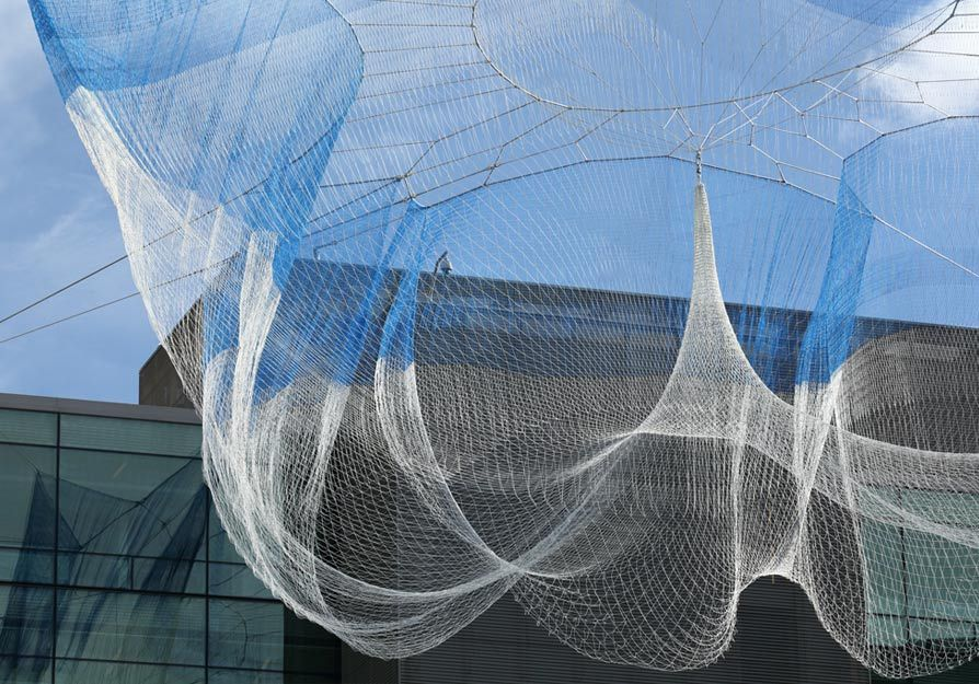 Image Result For Fishing Net Architecture Fishingnet Net Architecture Invisible Cities Fishnet