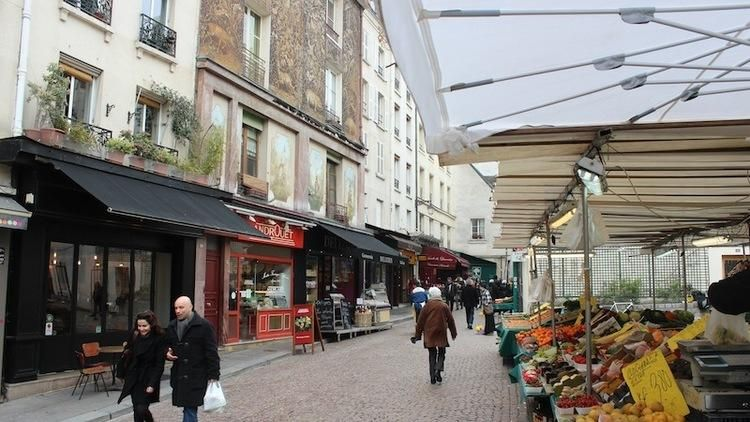 Marché Mouffetard | Paris in the Fall | Pinterest | France