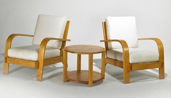Nice Russel Wright American Modern ...I Have Just The Spot For This Trio,