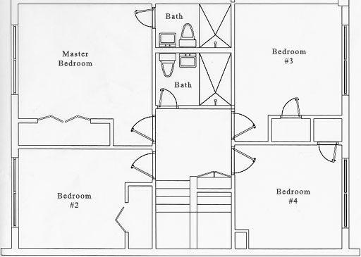 Second Floor, 2 Suites From 4 Bedrooms | Fabulous Floor Plans