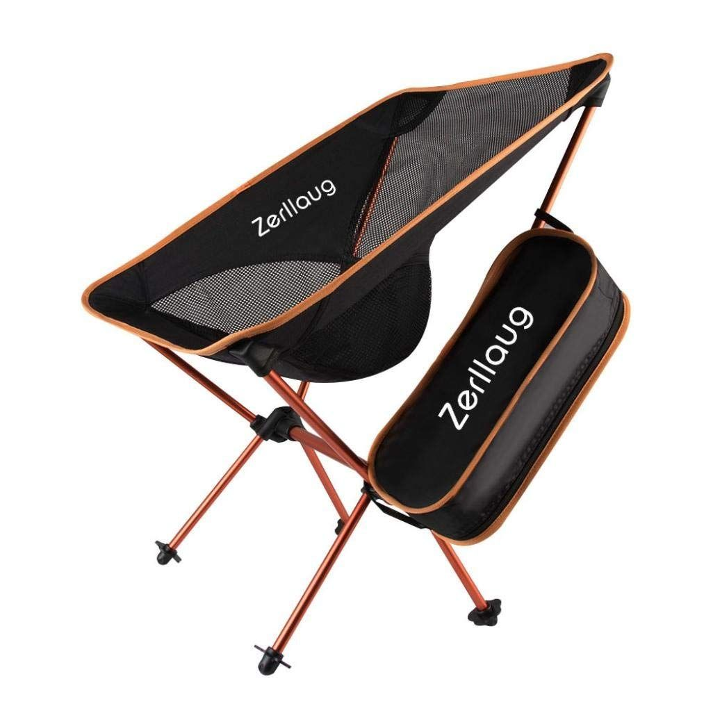Zerllaug Folding Camping Chair Lightweight Portable Backpacking Chair For Outdoor Activities Backpacking Chair Folding Camping Chairs Camping Chairs