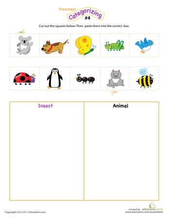 count sort and classify math preschool science worksheets for kids preschool math. Black Bedroom Furniture Sets. Home Design Ideas