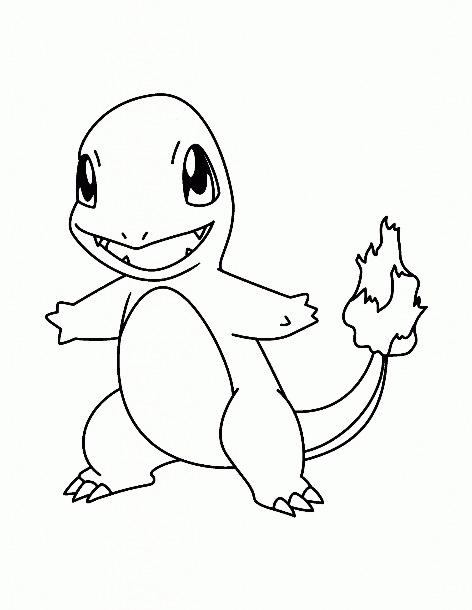 Charmander Pokemon Coloring Page Youngandtae Com In 2020 Pokemon Coloring Pages Pokemon Coloring Pikachu Coloring Page
