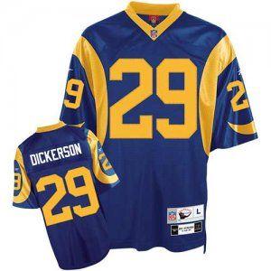 arrives 55416 f6e92 Eric Dickerson Team Color Jersey, St.Louis Rams #29 NFL ...