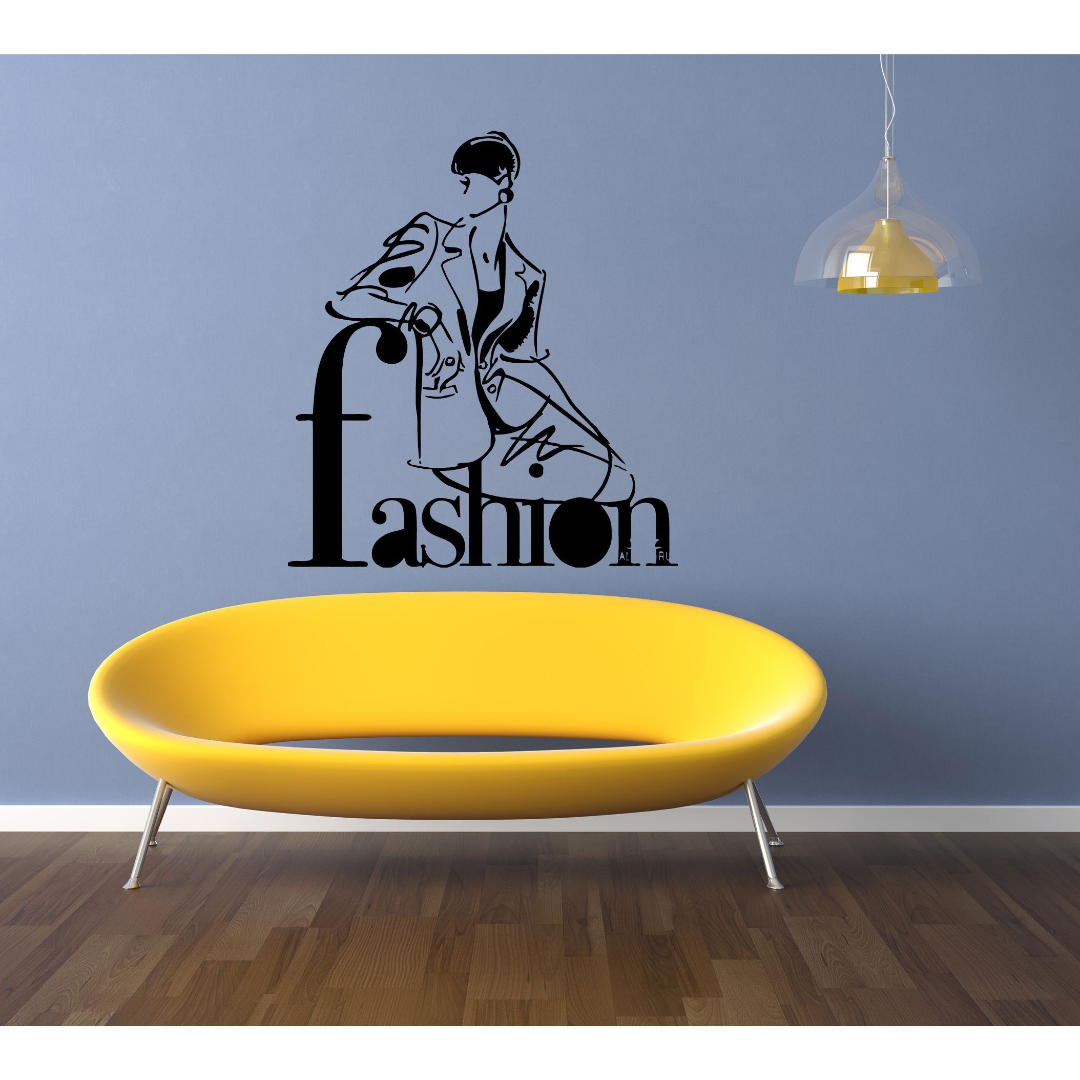 Girl trend Fashion Wall Art Sticker Decal | Products | Pinterest ...