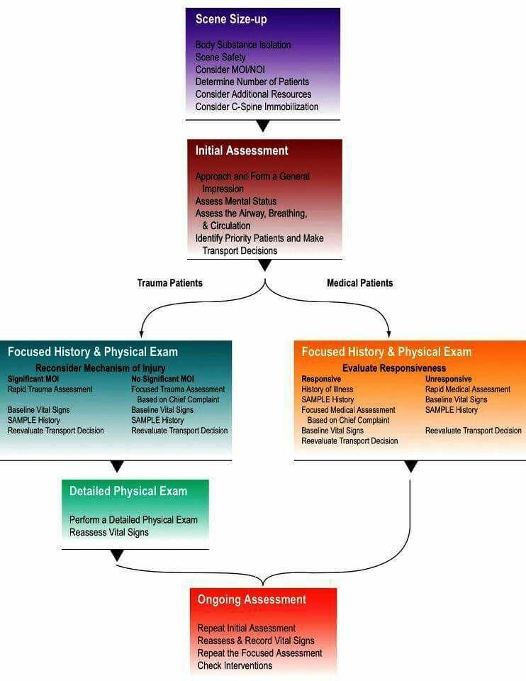 diagrama de flujo impresionante para la evaluación del