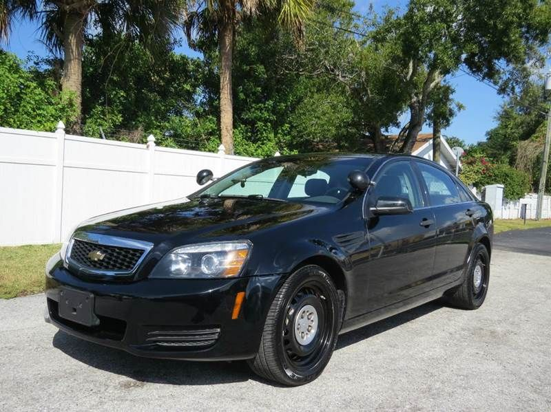 2012 Chevrolet Caprice Police 4dr Sedan W 1sb Largo Fl Chevrolet Caprice Chevy Impala Police Cars