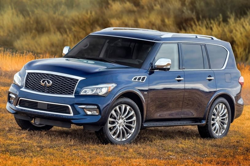 2015 INFINITI QX80 Limited 4dr SUV Exterior Suv
