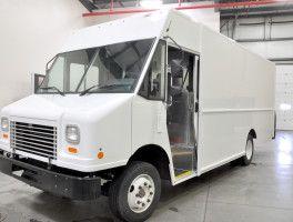 Freightliner Mt 55 P 1100 Utilimaster Step Van At Work Truck Direct Work Truck Step Van Freightliner