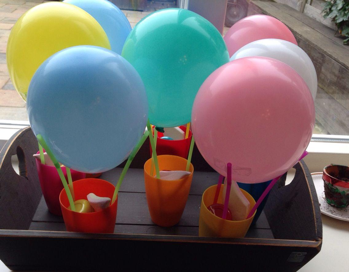 Traktatie luchtballon nodig beker hema 6 voor 1 euro for Kartonnen bekers hema