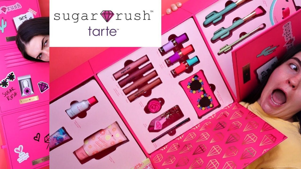 New Makeup! Tarte Sugar Rush Collection (With images