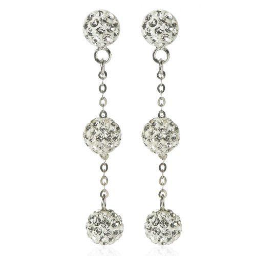miglior posto per saldi prezzo speciale per Le Scintille Orecchini pendenti in argento 925 con cristalli ...