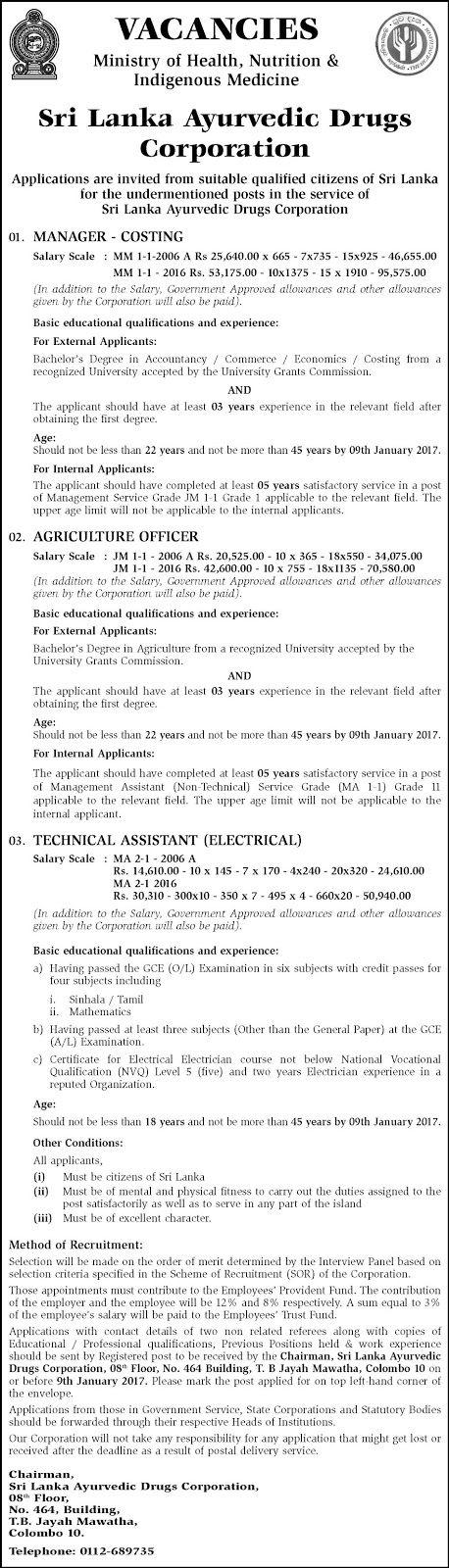 Pin on Government Jobs & Vacancies in Sri Lanka