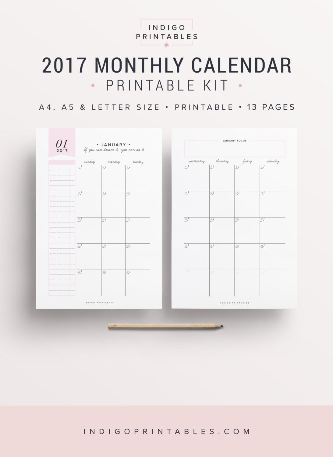 monthly planner 2017 monthly calendar 2017 monthly planner inserts