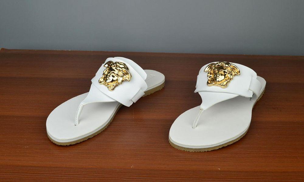 cf1b89b9d327 white versace women flip flops sandal
