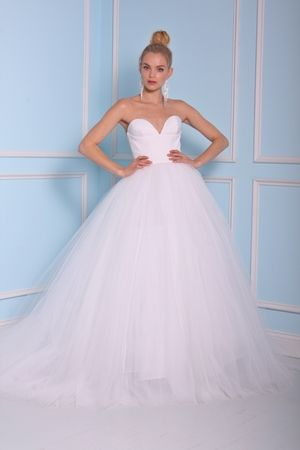 Christian Siriano Sweetheart Ball Gown in Tulle | KleinfeldBridal ...