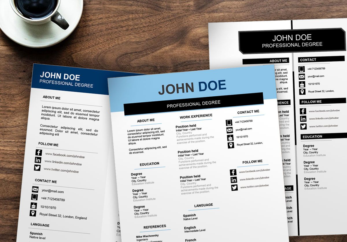 download this free resume examples and resume templates to