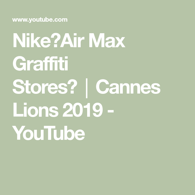 nike air max graffiti stores