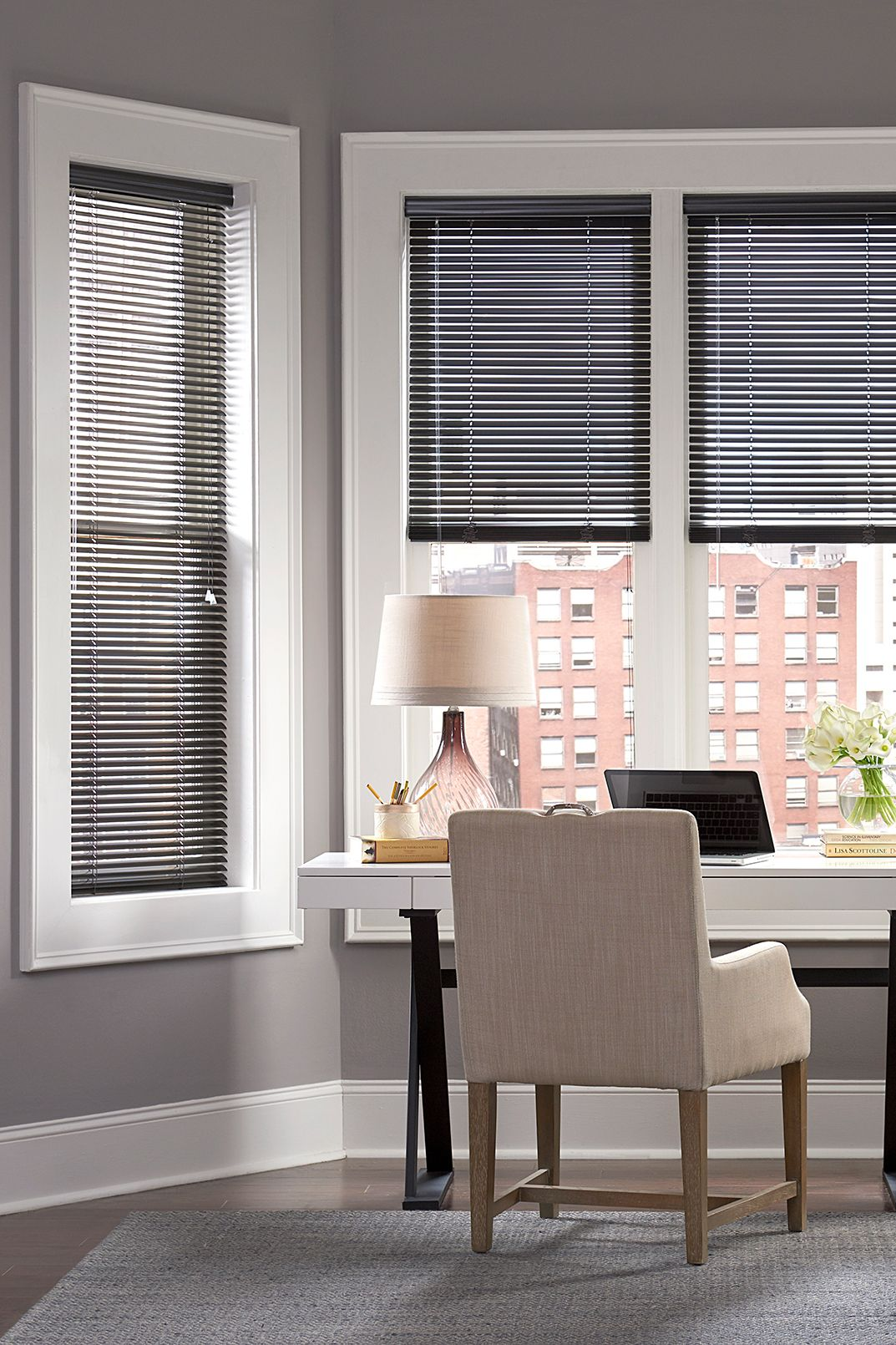 The Ultimate Guide To Blinds For Bay Windows Blinds Com Living Room Blinds Living Room Windows Blinds For Windows