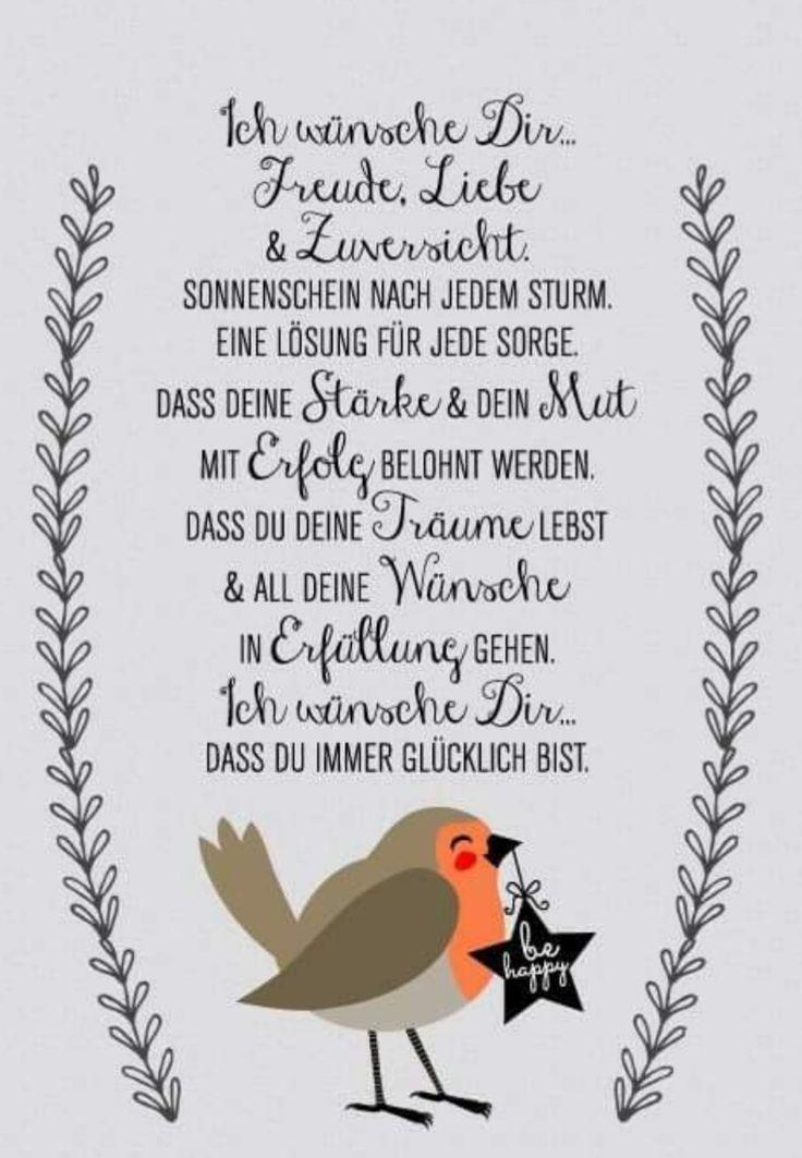 Geburtstag Sprücheverseglückwünsche Verse Schöne