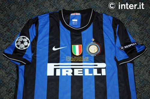 Inter shirt Champions League final 2009-2010