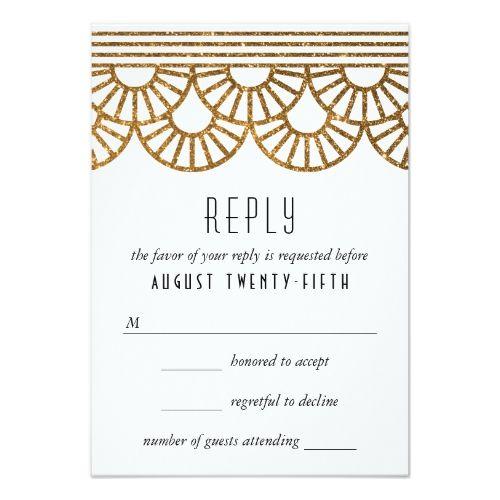wedding invite reply card