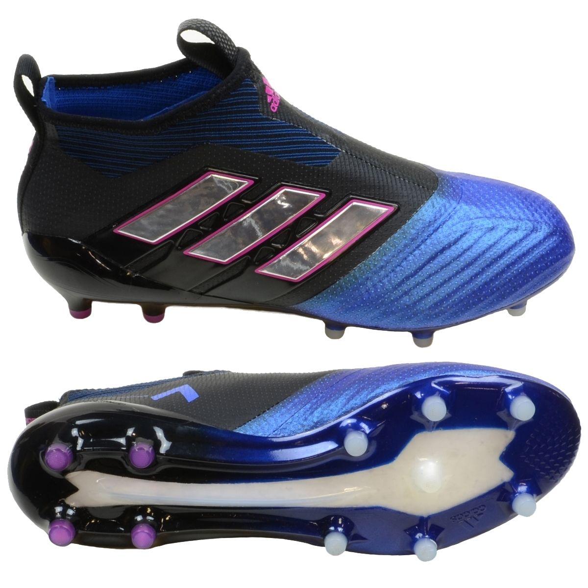 Adidas ACE 17+ PURECONTROL FG Soccer Cleats (BlackWhite