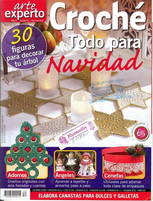 Materiales gráficos Gaby: 30 Apliques de navidad patrones y las ...