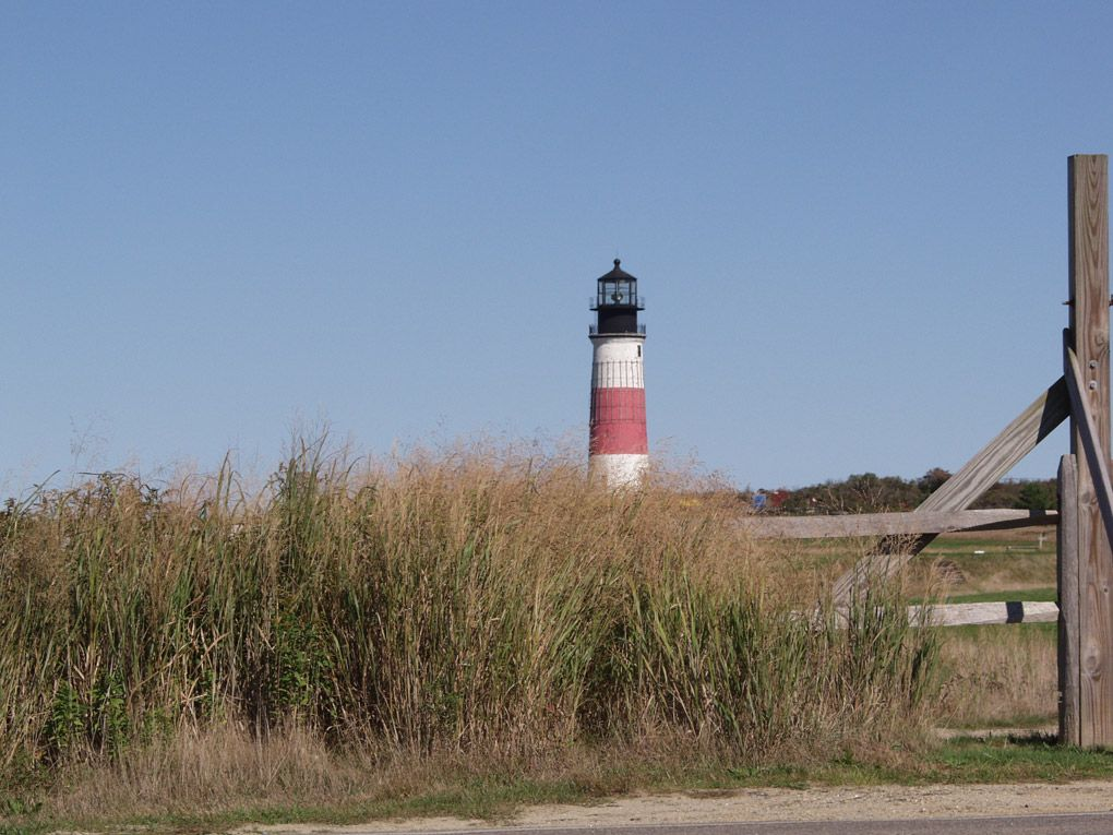 Sankaty Lighthouse, out in Sconset Nantucket island