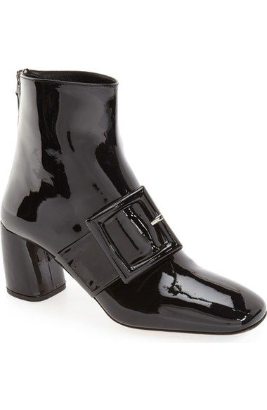 f36a1c0c7234 Miu Miu Wrapped Buckle Square Toe Bootie (Women) available at  Nordstrom