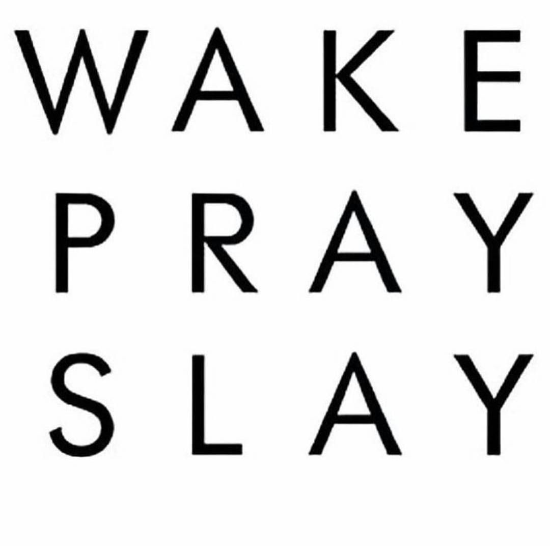 WAKE.  PRAY.  SLAY ! #eryday ��  Prayer is always the key! Never start your day without it!������ #makeup #makeupartist #mua #makeover #wedding #weddingmakeup #bride #bridalmakeup #browsonfleek #beat #beatface #beatthatface #flawless #glam #slay #beauty_withme #Makeuplover #Makeupforever #Makeupbyme #Makeupoftheday #Makeuplook #Mascara #Makeupgeek #Makeuplovers #Instamakeup #Instamakeupartist  #Makeupobsessed #Beauty #makeupforblackwoman…