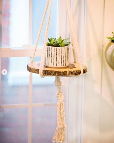 Macrame Plant Hanger, Macrame Pot Holder, Plant