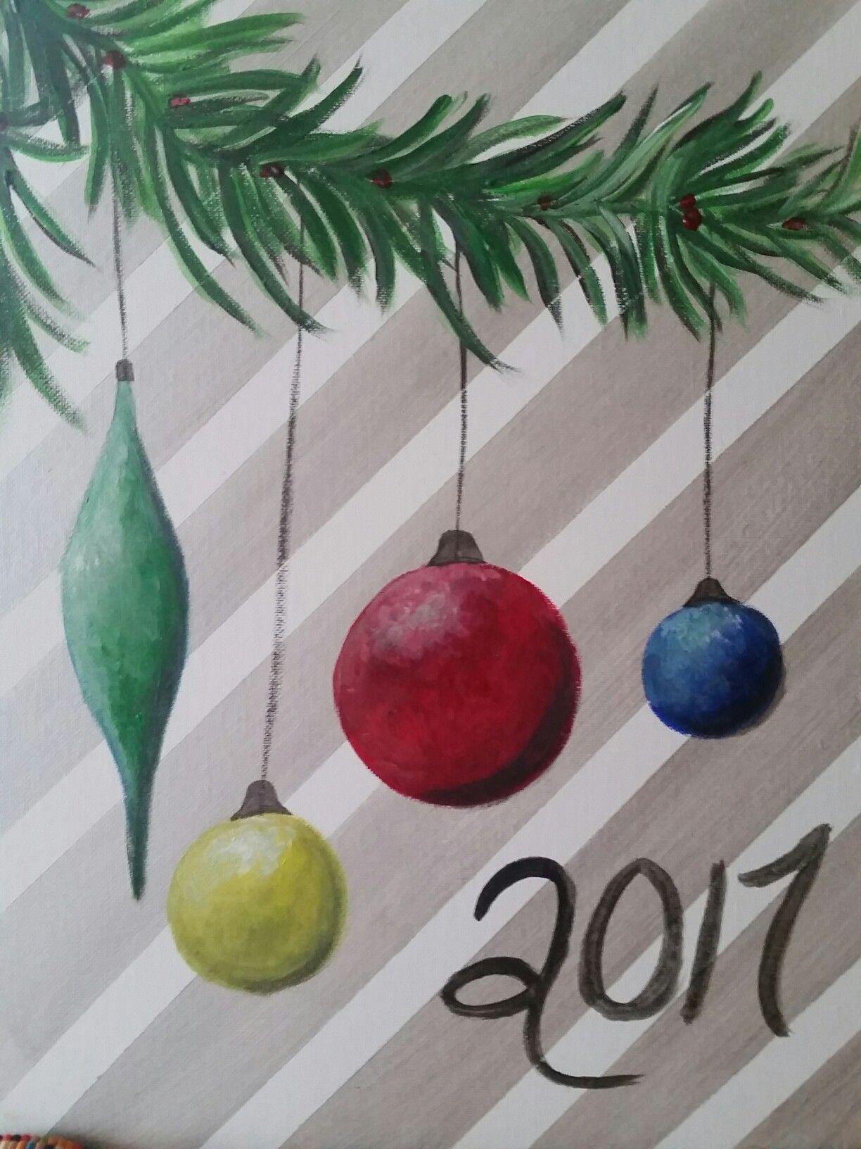 Holiday Painting Holiday Painting Painting Crafts Christmas Canvas