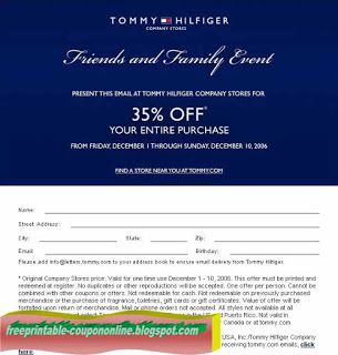 tommy hilfiger free shipping code