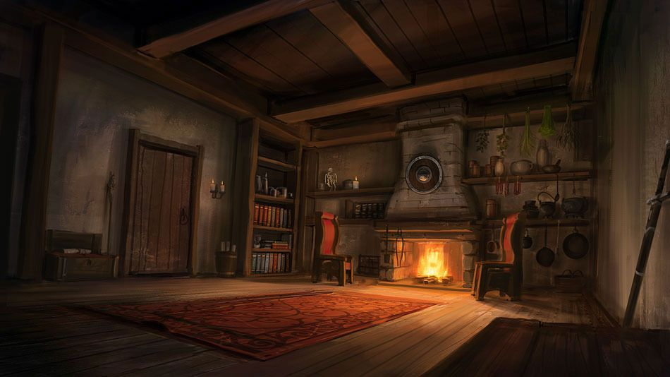 Image result for fireplace concept art