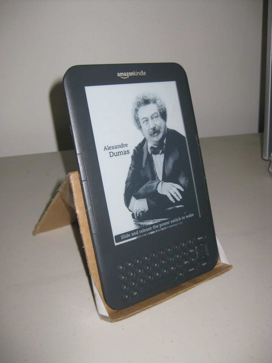 Homemade Kindle stand  Works for any Kindle | Kindle