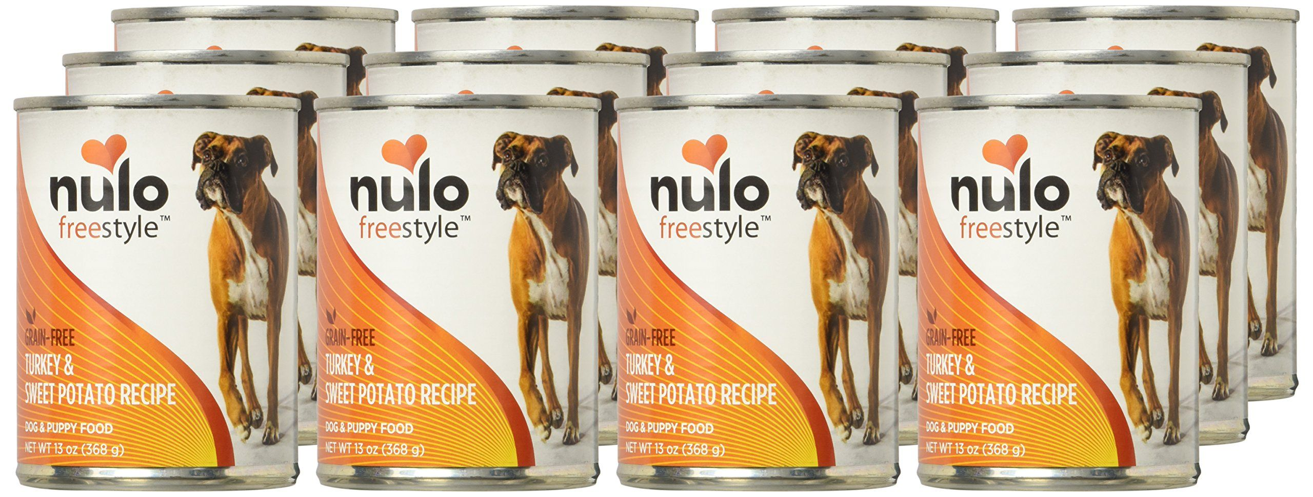 Nulo Freestyle Turkey And Sweet Potato Recipe Can Dog 12 13 Oz