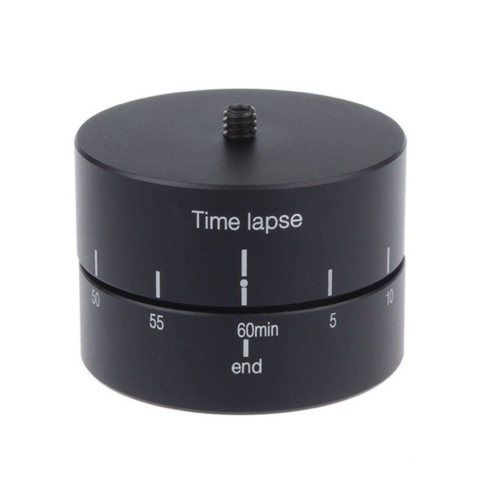 Andoer 360 Degrees Panning Rotating Time Lapse Stabilizer Tripod Adapter for Gopro DSLR
