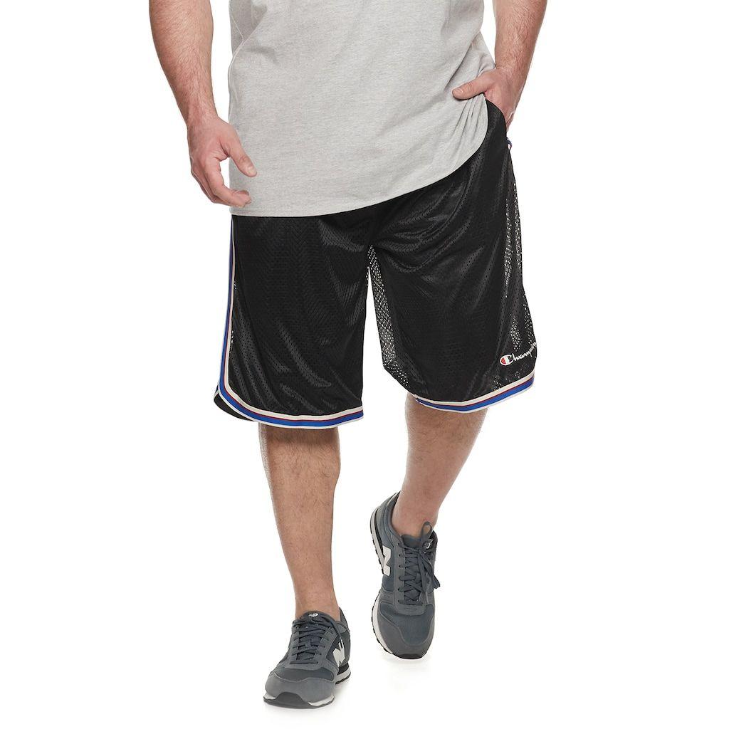 Big Tall Champion Core Basketball Shorts Stylish Men Shorts Men
