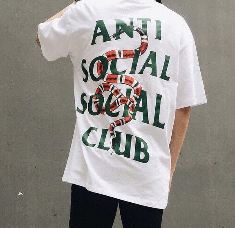 bc48374b38b Anti-Social Social Club Snakes Shirt | anit social social club ...