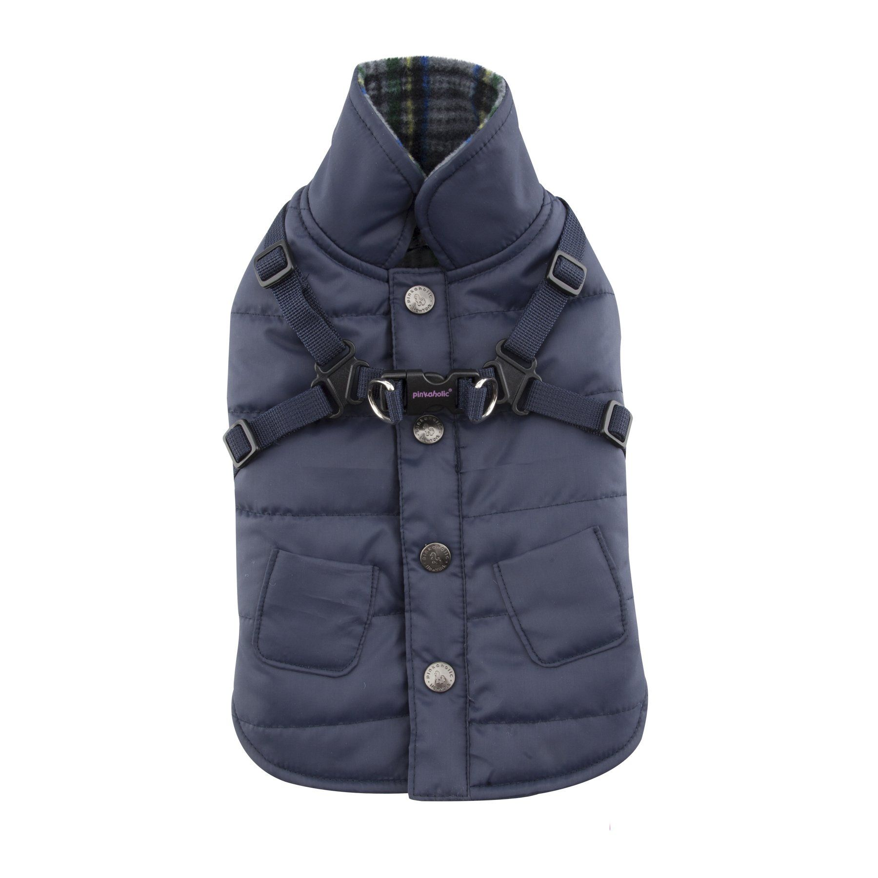 Pinkaholic New York Ameila Winter Fleece Vest, Medium, Navy -- Awesome products selected by Anna Churchill
